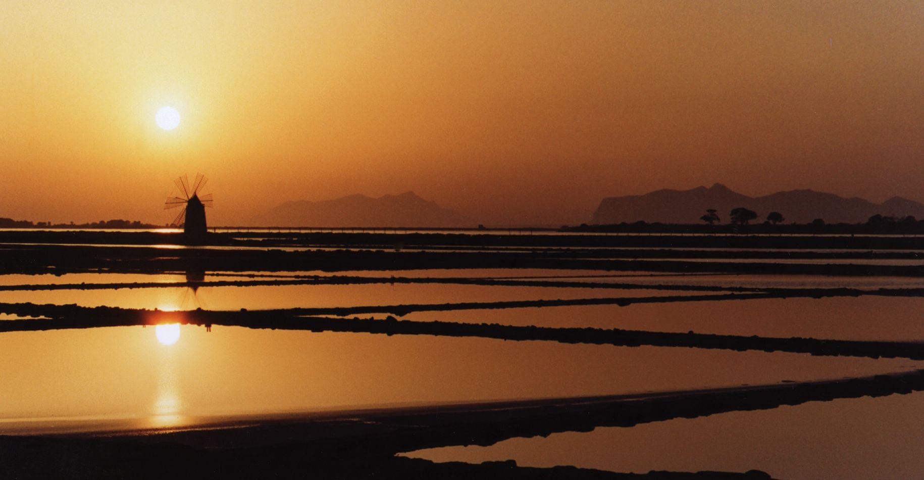 Alagna vini tramonto saline